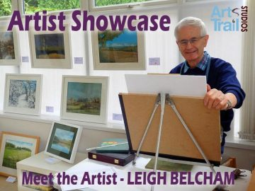 Leigh Belcham at work