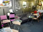 Art of Coffee seating in the Gallery